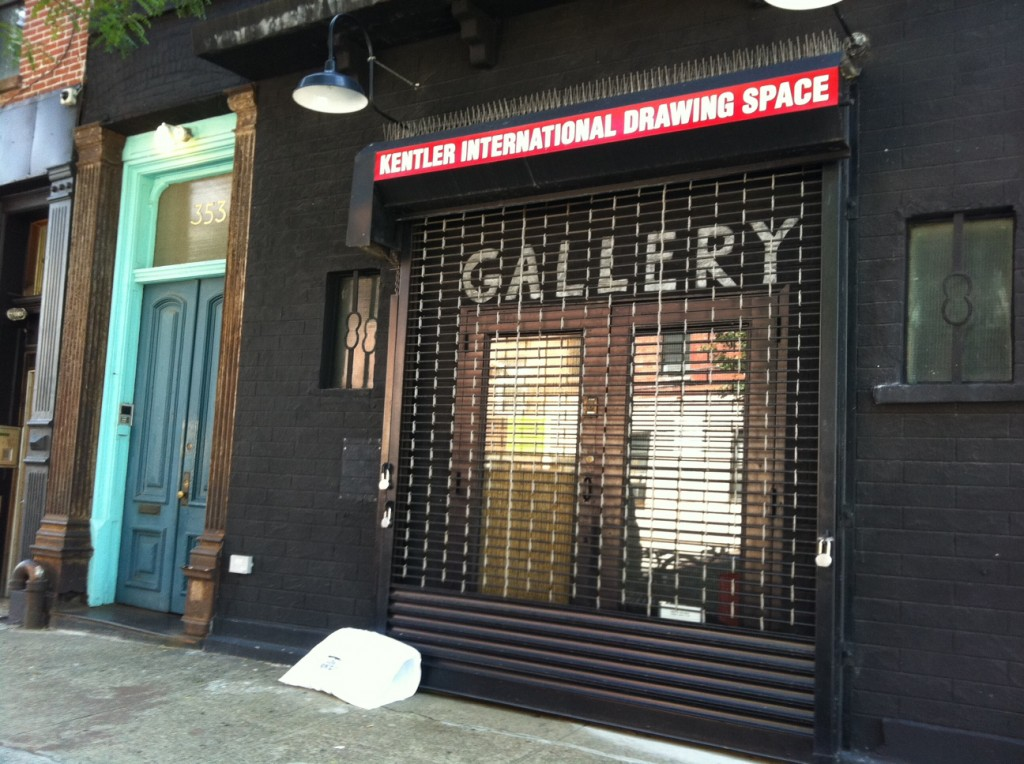 3/10 - Kentler International Drawing Space 353 Van Brunt St. Brooklyn, NY 11231